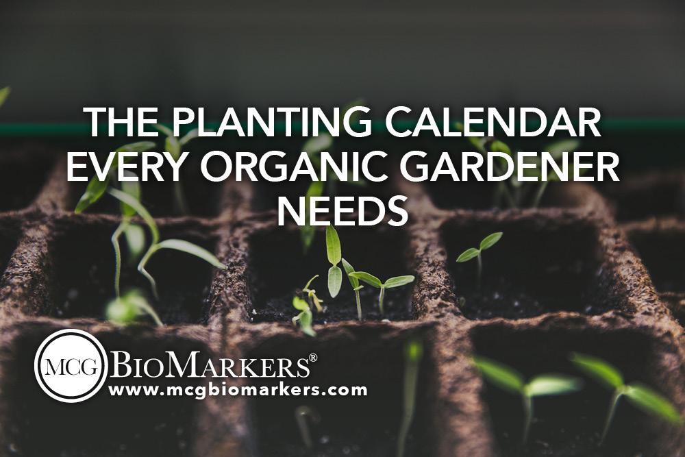 The Planting Calendar Every Organic Gardener Needs 1